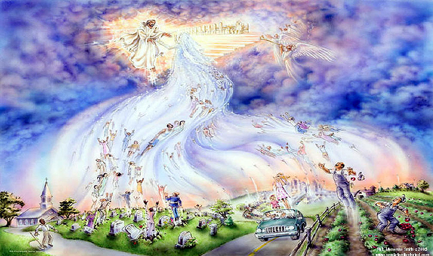 the rapture of the saints as explained in the bible In christian eschatology, the great tribulation (greek: θλίψις μεγάλη, thlipsis megalē) is a period mentioned by jesus in the olivet discourse as a sign that would occur in the time of the end.